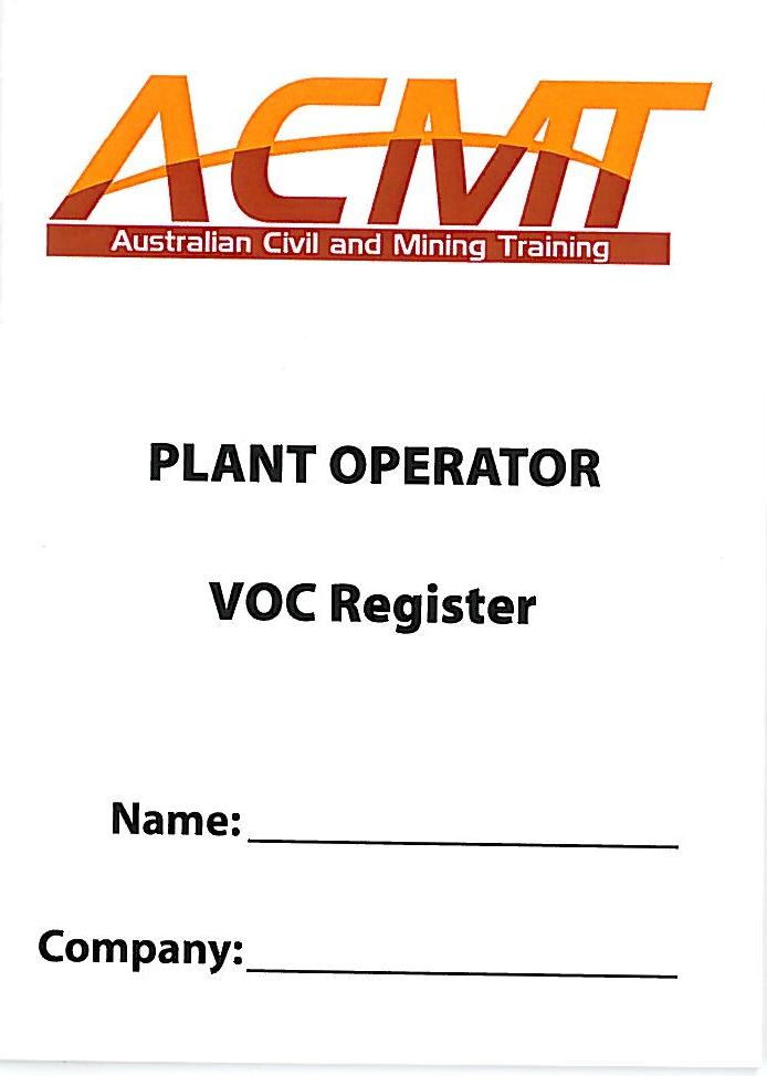 Verification Of Competency Voc South Australia